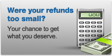 Were your refunds to small?